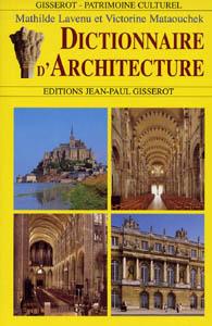 livres a lire dictionnaire d 39 architecture